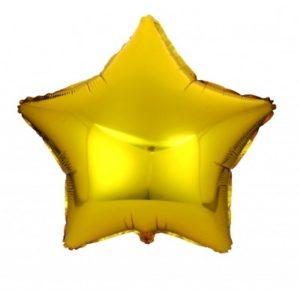 Фольгированный шар звезда