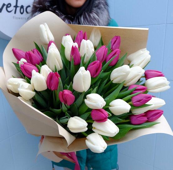 Доставка цветов к 8 марта