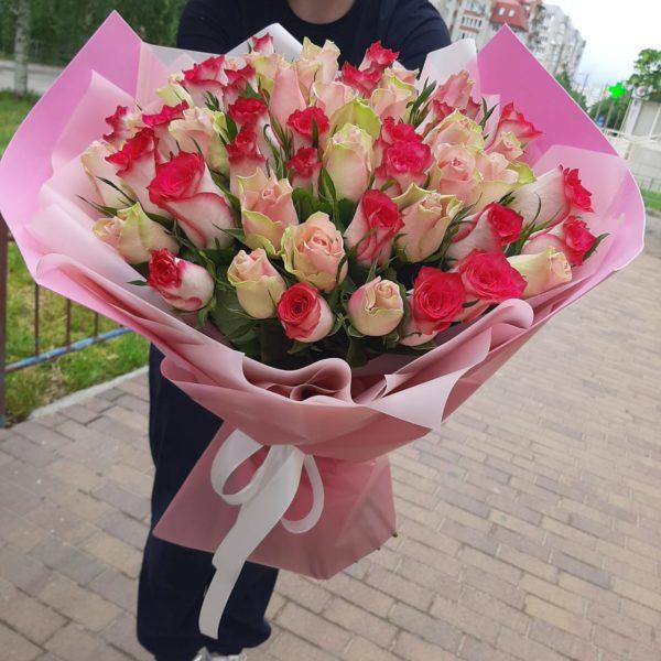 доставка роз в Краснодаре