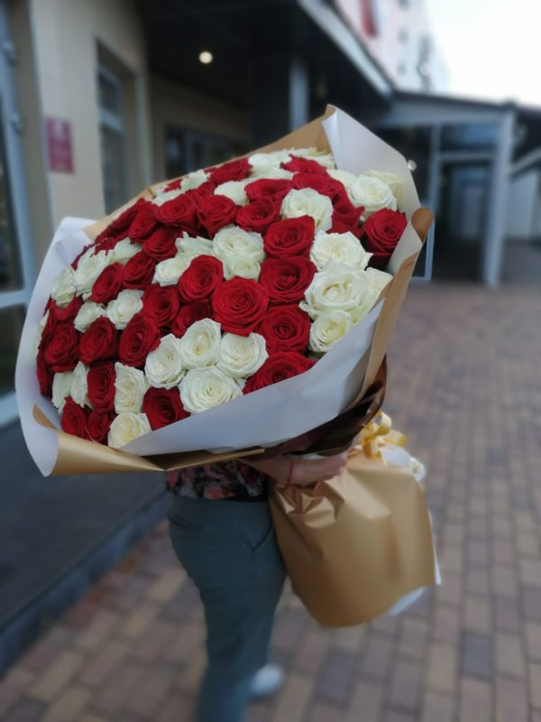 101 роза Краснодар
